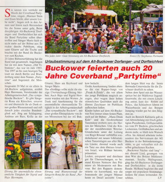 Buckower Magazin 07/2013